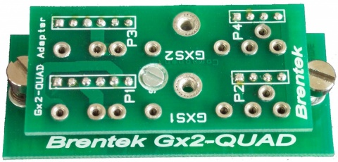 Gx2-QUAD Adapter for QUAD I/0 Modules (DRY5Q and others)