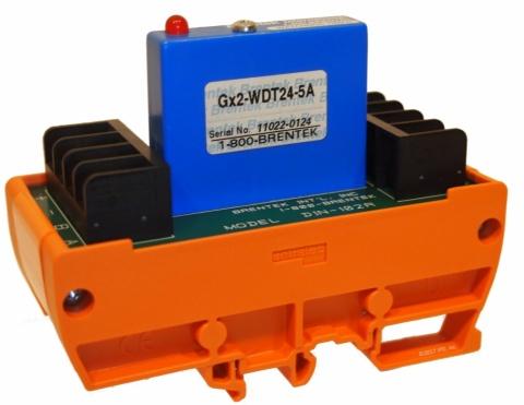 Brentek DIN-102R DIN-mount I/0 Rack with Gx2-WDT24 Watchdog Timer