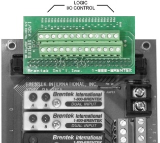 Brentek IDC50-TB26 50-pin I/O Adapter - highlighted on I/O rack