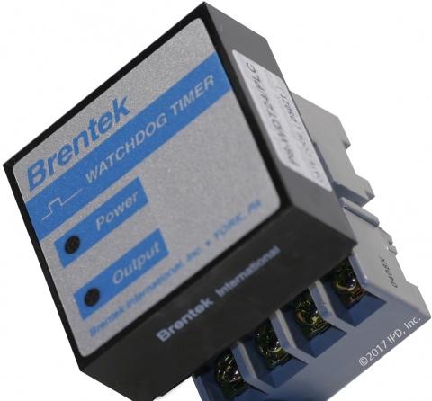Brentek P8-WDT24/PLC Watchdog Timer in DIN 8 Octal Socket