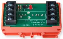 Brentek DIN-102R Universal DIN-mount I/O Rack