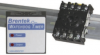 Brentek P8-WDT24/PLC shown with DIN Rail and DIN 8 Socket